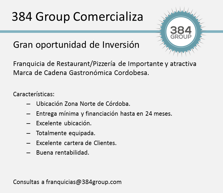 384 Group Oportunidad de Inversion